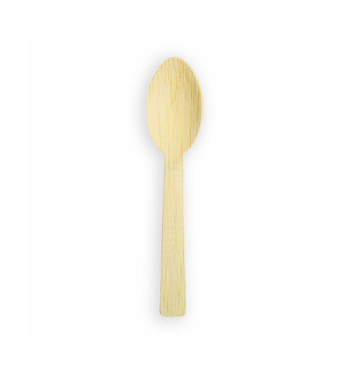 Cuchara de Bambu 17cm (50 Uds)