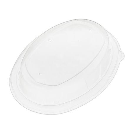 Tapa Cupula Plastico PP para Bandeja 240x170mm (50 Uds)