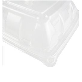 Tapa de Plastico PP Cúpula para Envase de 230x230mm (50 Uds)