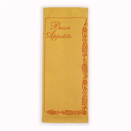 """Sobre Portacubiertos con Servilleta """"Buon Appetito"""" (1000 Uds)"""