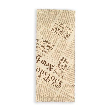 """Sobre Portacubiertos con Servilleta """"New York Times"""" (1000 Uds)"""