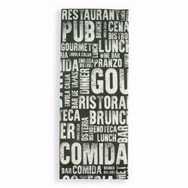 """Sobre Portacubiertos con Servilleta """"Gourmet"""" (125 Uds)"""