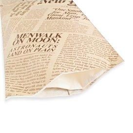 """Sobre Portacubiertos con Servilleta """"New York Times"""" (125 Uds)"""