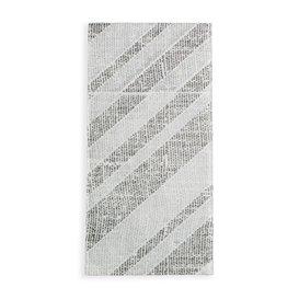 Servilleta Portacubiertos de Papel Barlovento Negro 40x40cm (30 Uds)