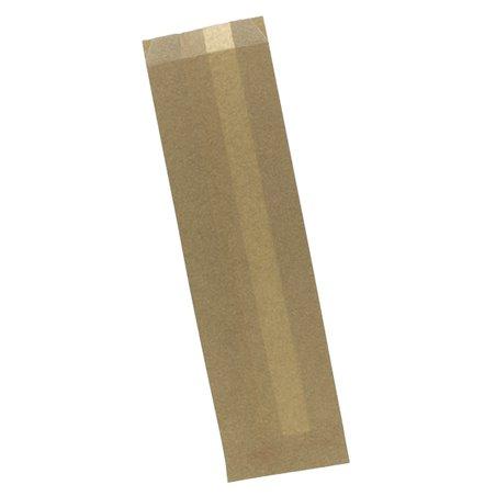 Bolsa para Bocadillo Antigrasa Kraft 9+5x32cm (250 Uds)