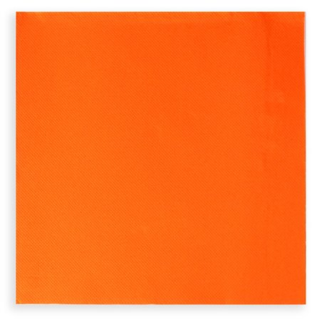 Servilleta de Papel Cocktail 20x20cm 2C Naranja (6.000 Uds)