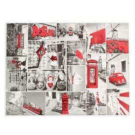 """Mantel Individual Papel 30x40cm """"Europa"""" 50g (2500 Uds)"""