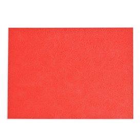 Mantel Individual TNT Plus Rojo 30x40cm 60g (400 Uds)