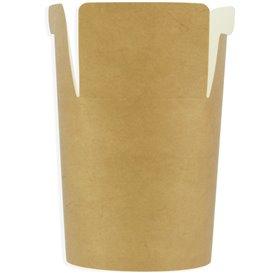 Envase Comida para Llevar 100% Bio Kraft 26Oz/780ml (500 Uds)