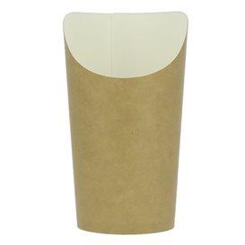 Vaso Desechable Antigrasa Carton Efecto Kraft Grande (1320 Uds)