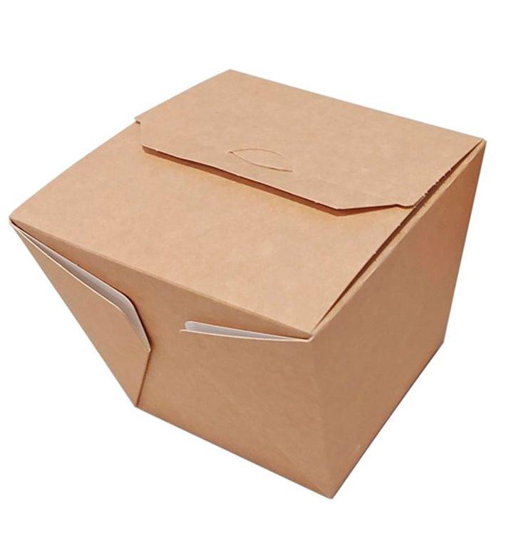 Caja de Comida para Llevar Wok Kraft 7120ml (240 Uds)