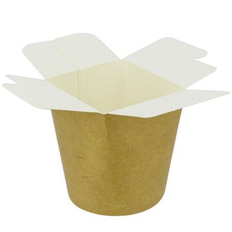 Envase Comida para Llevar 100% ECO Kraft 26Oz/780ml (500 Uds)