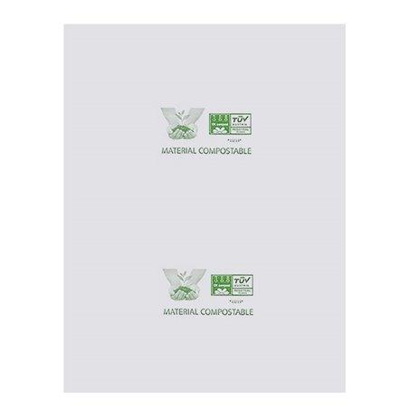 Bolsa Plastico Block 100% Biodegradable 27x35cm (300 Uds)