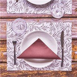 """Mantel Individual Papel 30x40cm """"Silvestre"""" 40g/m² (1000 Uds)"""