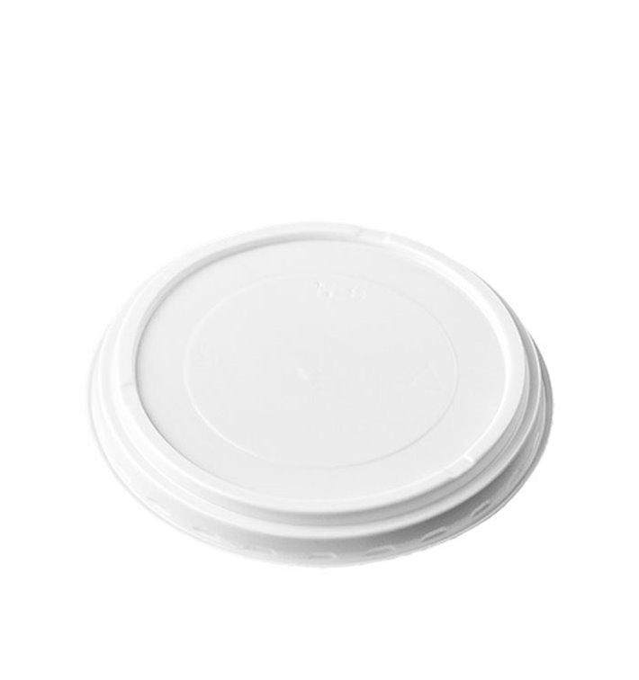Tapa PS Traslúcida para Vaso Foam EPS 4Oz/120ml Ø6,9cm (100 Uds)