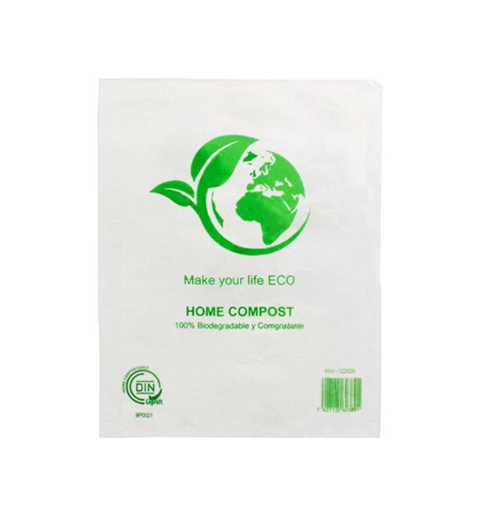 Bolsa Mercado 100% Biodegradable 16x24cm (100 Uds)