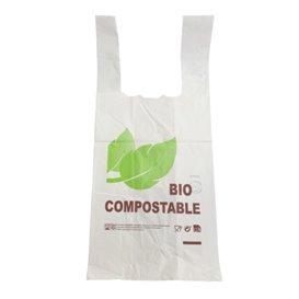 Bolsa Plastico Camiseta 100% Biodegradable 48x60cm G100 (800 Uds)