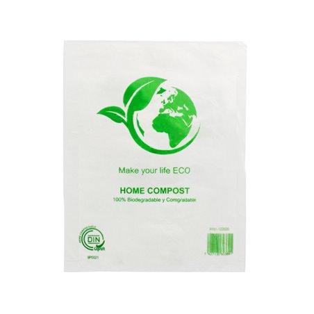Bolsa Mercado 100% Biodegradable 23x30cm (100 Uds)