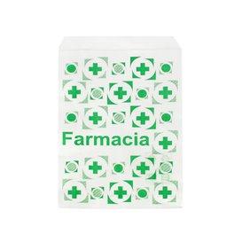 Bolsa de Papel Blanca Farmacia 14x20cm (250 Uds)