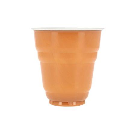 Vaso de Plastico PS Vending Design Bicolor 166ml Ø7,0cm (100 Uds)
