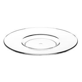 "Plato Reutilizable SAN para Taza ""Cappuccino"" Transparente 166ml (36 Uds)"