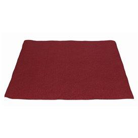 Mantel Individual de Papel Burdeos 30x40cm 40g/m² (1.000 Uds)