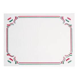 "Mantel Individual de Papel Blanco ""Italia"" 30x40cm 40g/m² (1.000 Uds)"