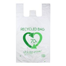 Bolsa Plástico Camiseta 70% Reciclado 80x90cm G200 (300 Uds)