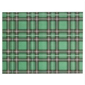 """Mantel Individual de Papel Verde """"Edinburgh"""" 30x40cm 40g/m² (1.000 Uds)"""
