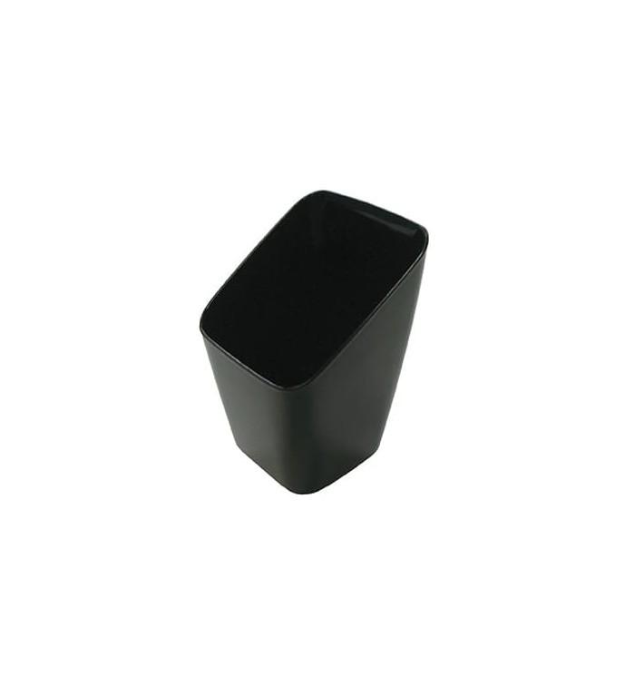 Vaso de Plastico Degustacion Negro 4x4x7 cm (20 Uds)