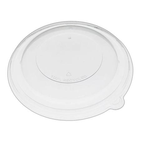 Tapa Cúpula de Plástico rPET Cristal Ø21x3cm (25 Uds)