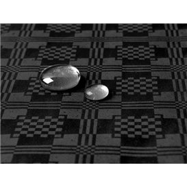 Mantel Impermeable Rollo Negro 1,2x5m (10 Uds)