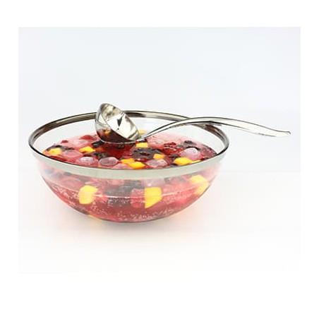 Cuchara De Plastico Para Ensalada Y Sopa Plata (5 Uds)