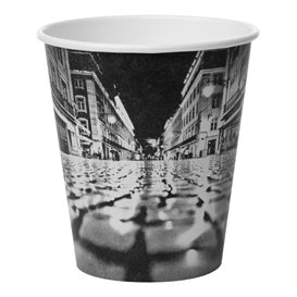 "Vaso Cartón 6Oz/180ml ""Parisian"" Ø8,0cm (50 Uds)"
