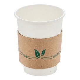 Funda para Vasos de Cartón Corrugada 12 y 20 Oz (100 Uds)