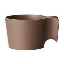 """Porta vasos """"Cupholder"""" Marron (12 Unidades)"""