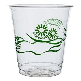 """Vaso PLA """"Green Spirit"""" Transparente 230ml (1250 Uds)"""