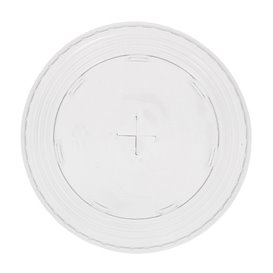 Tapa Cruz Vaso PET y PLA 265, 364, 425, 450 y 550ml Ø9,5cm (800 Uds)