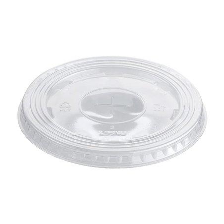 Tapa Plana con Cruz PET Cristal Ø9,4cm (100 Uds)