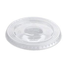Tapa Plana con Cruz PET Cristal Ø9,4cm (1000 Uds)