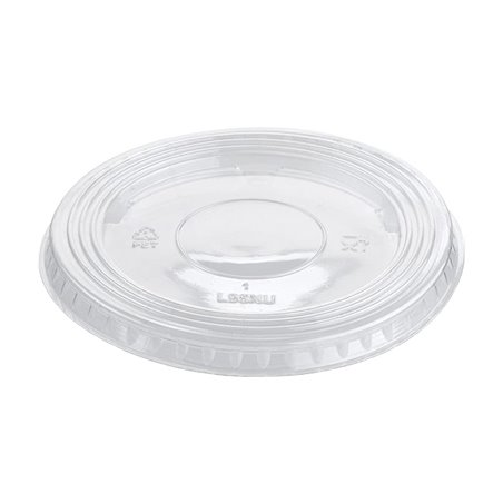 Tapa Plana Cerrada PET Cristal Ø9,4cm (100 Uds)