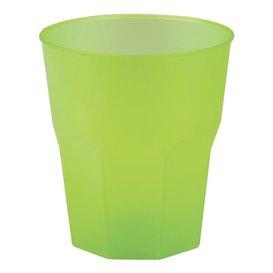 "Vaso de Plastico ""Frost"" Verde Lima PP 270ml (20 Uds)"