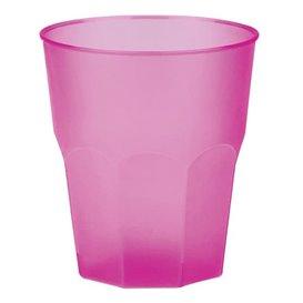 "Vaso de Plastico ""Frost"" Fucsia PP 270ml (20 Uds)"