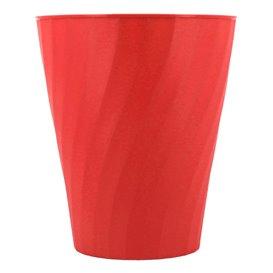 """Vaso de Plastico """"X-Table"""" Rojo PP 320ml (8 Uds)"""