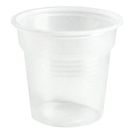 Vaso de Plastico PS Transparente 80ml Ø5,7cm (50 Uds)