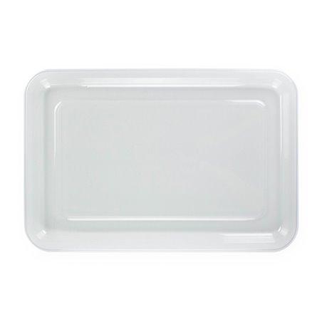 Bandeja Reutilizable PET Transparente 35x24cm (10 Uds)