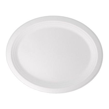 Bandeja Caña de Azucar Blanca 320x255x21mm (500 Uds)