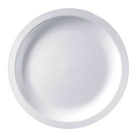 Plato Reutilizable PP Llano Blanco Round Ø18,5cm (600 Uds)