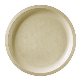 Plato Reutilizable PP Crema Round Ø29cm (300 Uds)