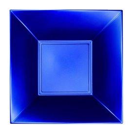 Plato Hondo Reutilizable PP Azul Nice Pearl 18cm (25 Uds)